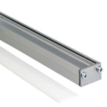 SAAS STRIP RAIL LED-PROFIILI OPAALI 20*14mm / 2m - 4128033