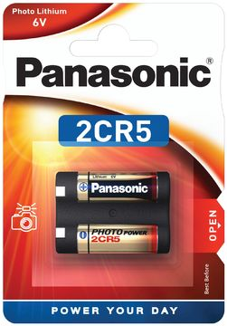 PANASONIC PHOTO POWER 2CR5 LITHIUM