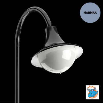 KARLUX EMOLA EMO-LED TAAJAMAVALAISIN HARMAA LED/34W/840 IP65 (3100lm)  - 4506977