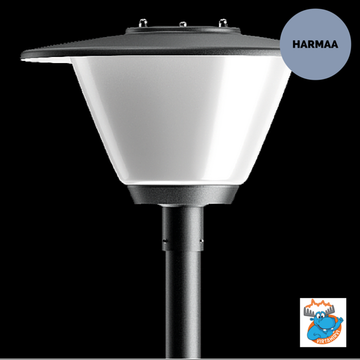 KARLUX TAPIO TPO-LED TAAJAMAVALAISIN HARMAA DIM LED/35W/840 IP44 (3100lm) - 4506971