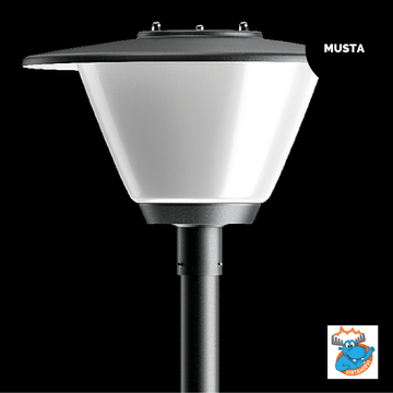 KARLUX TAPIO TPO-LED TAAJAMAVALAISIN MUSTA DIM LED/35W/840 IP44 (3100lm) - 4506969
