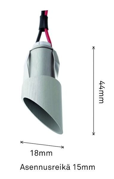 SAAS HIGHLINE DIAGONAL+ LED/3W/830 IP44 (80lm) - 4106935